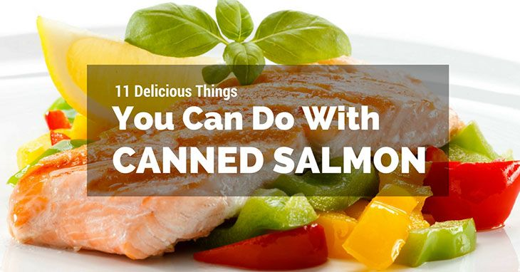 What to do with canned salmon 11 easy recipes for you for Canned fish recipes