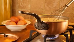 copper cookware heat