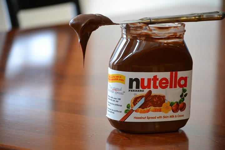 how to melt nutella by spoon