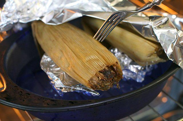 Heat the Tamales