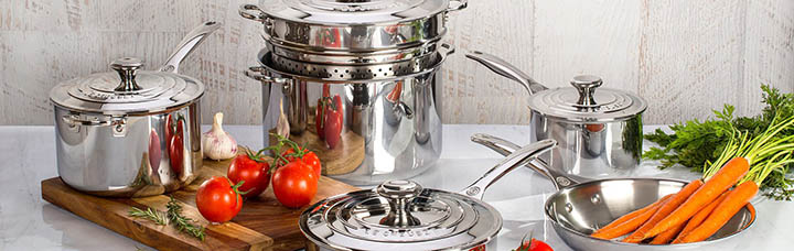 best cookware for glass top stoves - Stainless Steel Cookware