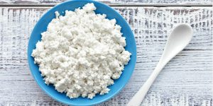 substitute for goat cheese- Cottage Cheese