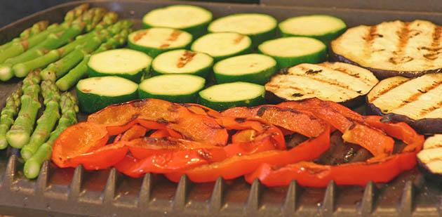 George Foreman Grill Vegetables Cooknovel Com