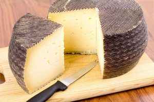substitute for goat cheese - Manchego