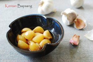 Maneul Jangajji (Korean Pickled Garlic)