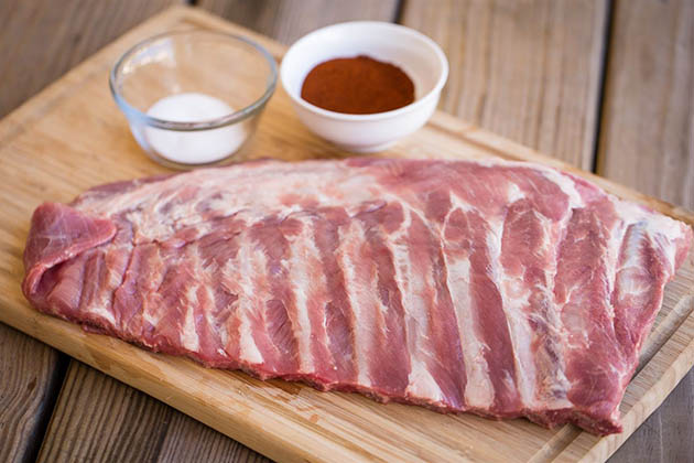beef ribs vs pork ribs - fat content