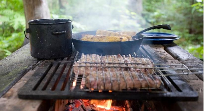 campfire cooking gear