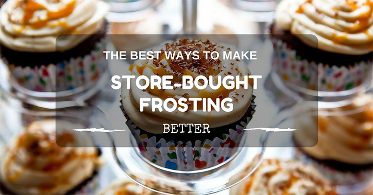 how to make store bought frosting better