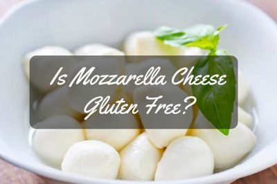 is mozzarella cheese gluten free