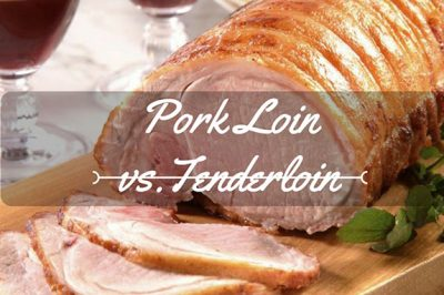 difference between pork loin and tenderloin