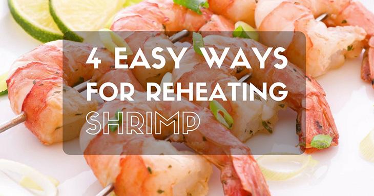 how to reheat shrimp