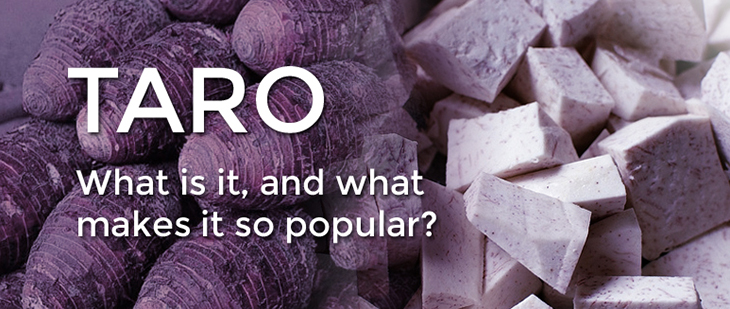 what does taro taste like