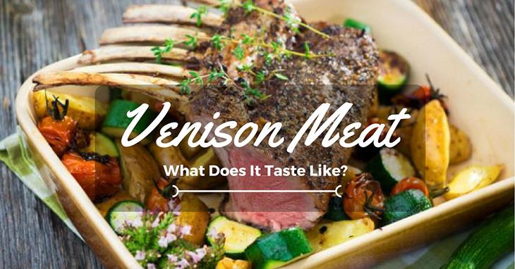 what does venison taste like