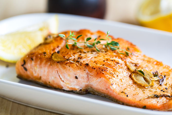 garlic salmon recipe