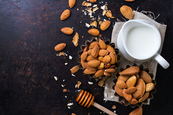 how to thaw almond milk
