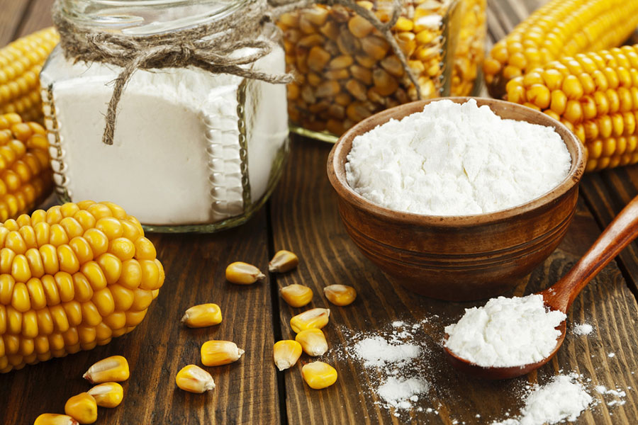 is corn flour the same as corn starch