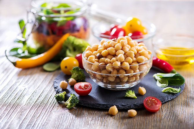Substitute For Cottage Cheese - Beans and Chickpeas