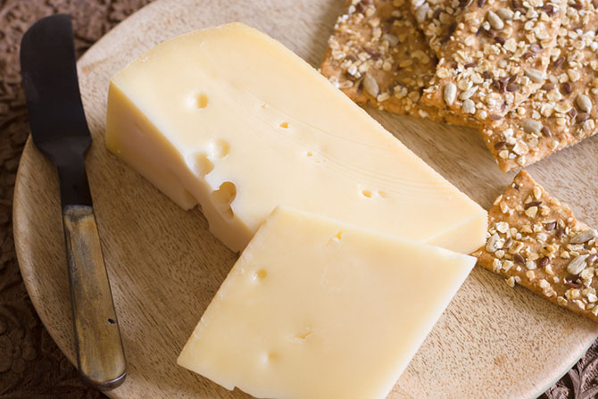 substitute for gruyere cheese - Jarlsberg Cheese