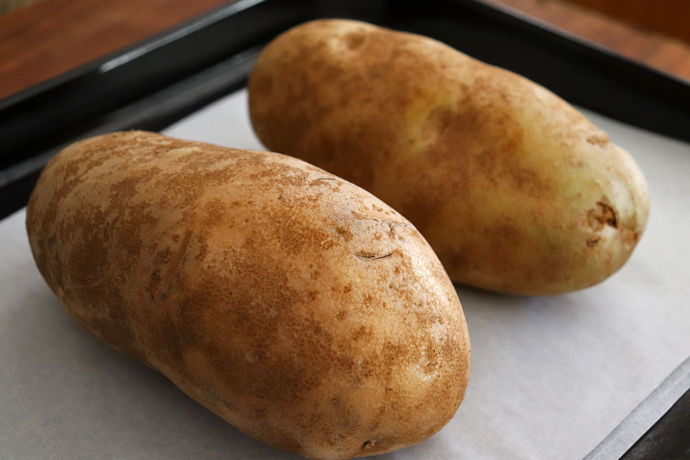Baked Russet Potatoes