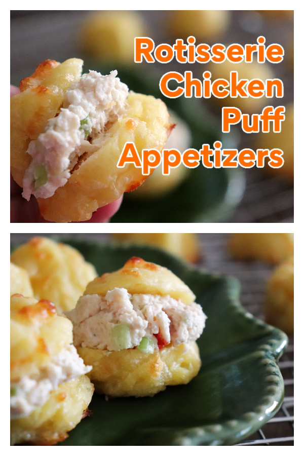 PIN for Rotisserie Chicken Puff Appetizers