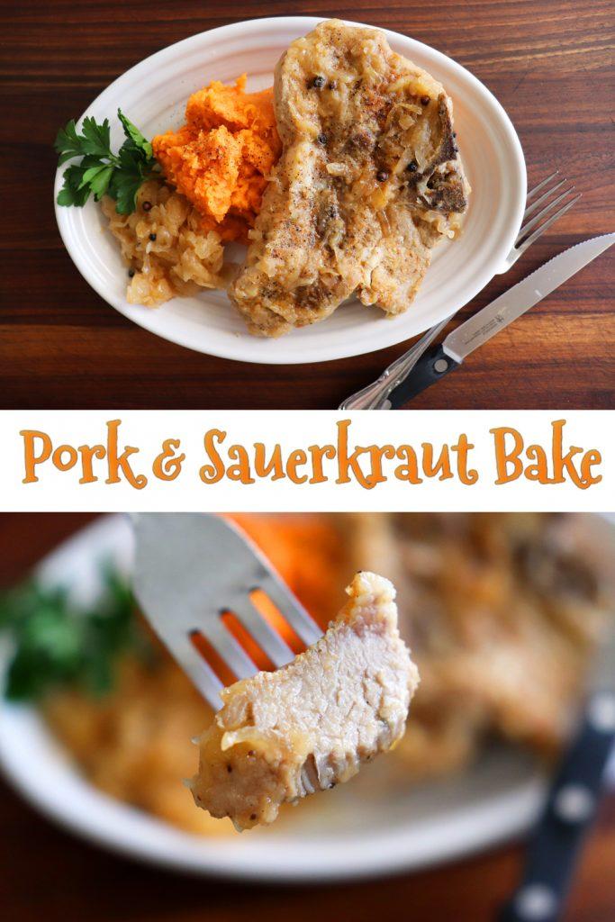 PIN for Pork Chop and Sauerkraut Bake
