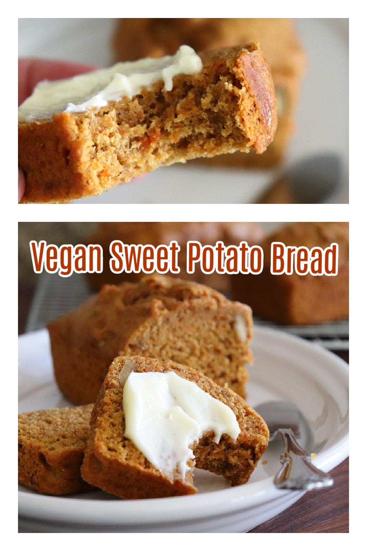 PIN for Sweet Potato Bread Recipe